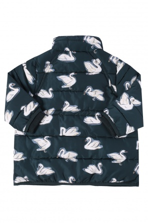 Printed quilted jacket od Stella McCartney Kids