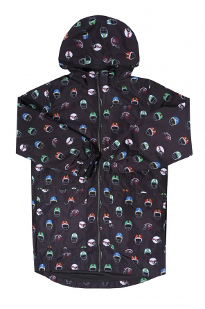 Patterned rain jacket od Stella McCartney Kids