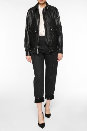 Jacket with pins od Saint Laurent Paris