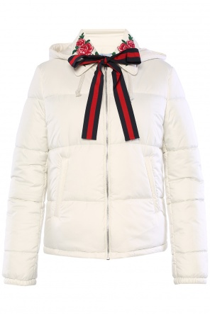 Quilted down jacket od Gucci