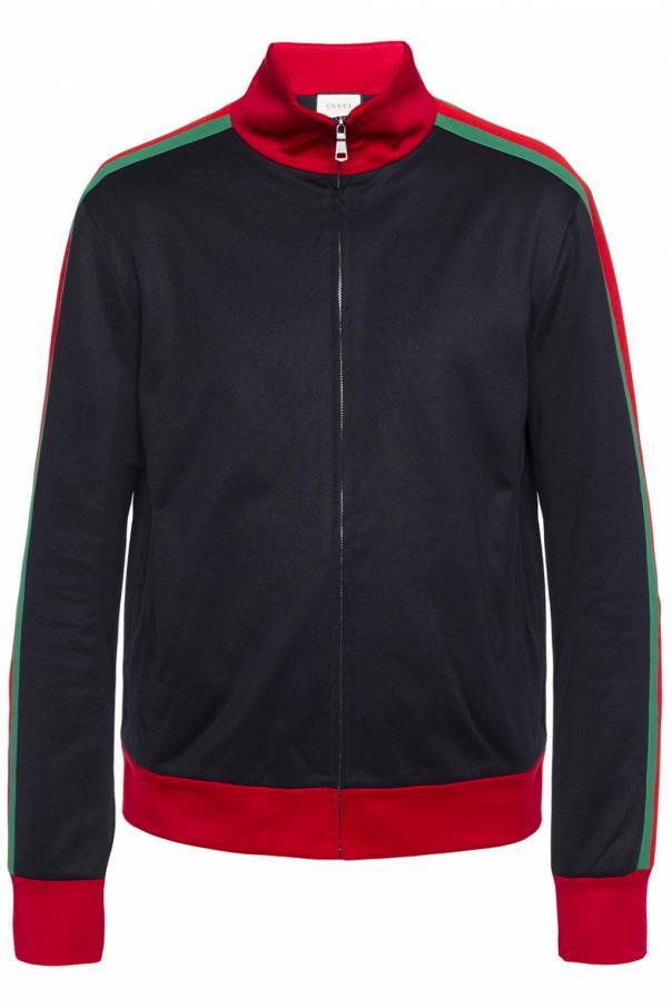 Embroidered sweatshirt od Gucci