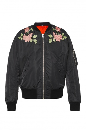 Reversible bomber jacket od Gucci