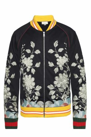 Patterned bomber jacket od Gucci