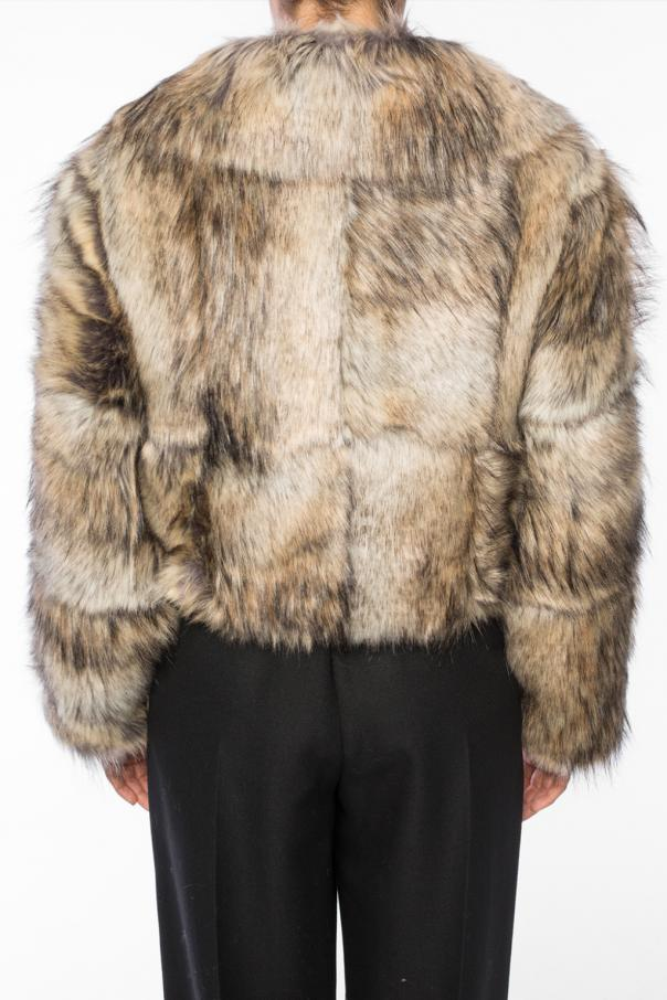 Fur jacket with collar od Stella McCartney
