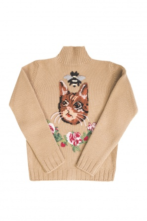 Embellished cardigan od Gucci Kids