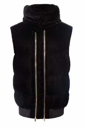 Quilted down vest od Stella McCartney
