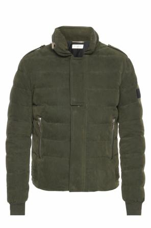Quilted down jacket od Saint Laurent