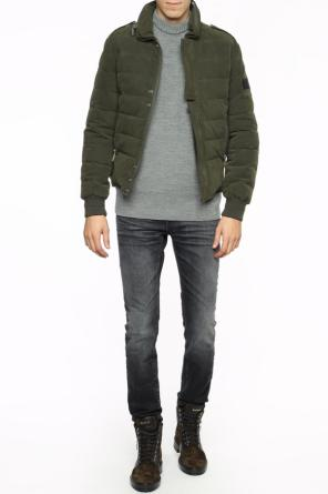 Quilted down jacket od Saint Laurent Paris