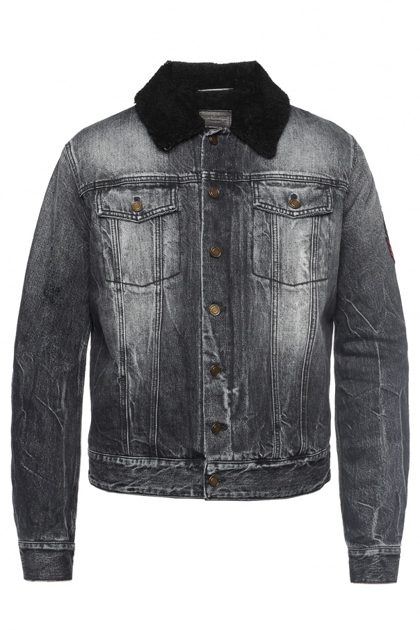 5612bbf9 Denim jacket Saint Laurent - Vitkac shop online