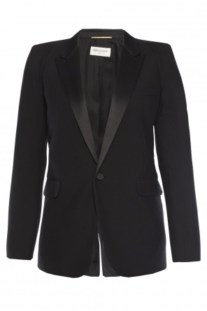 Blazer with peak lapels od Saint Laurent Paris