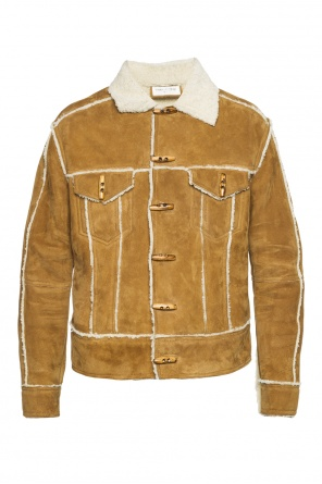 Shearling jacket od Saint Laurent Paris