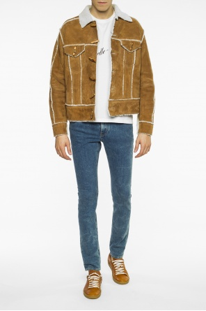 Shearling jacket od Saint Laurent