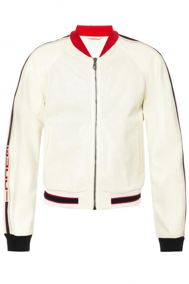 9c1ed7931 Perforated bomber jacket Gucci - Vitkac shop online
