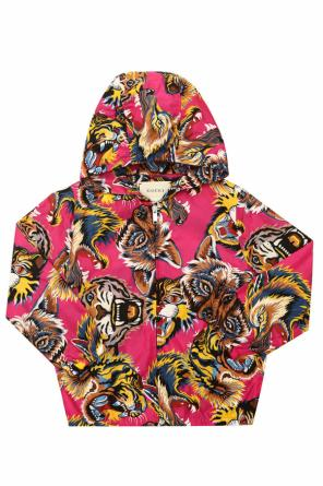 Printed jacket od Gucci Kids