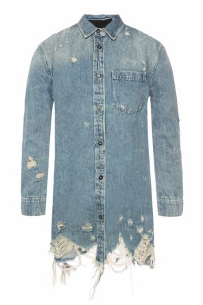 Denim jacket with holes od Alexander Wang