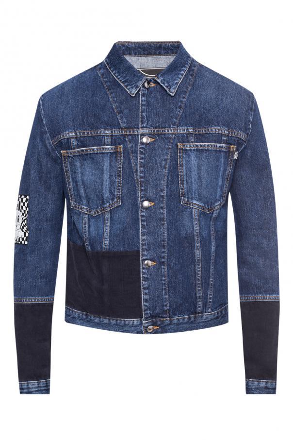 070ffdf3600 Appliquéd denim jacket McQ Alexander McQueen - Vitkac shop online