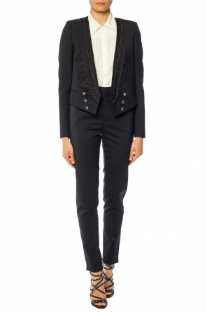 Embroidered blazer od Saint Laurent