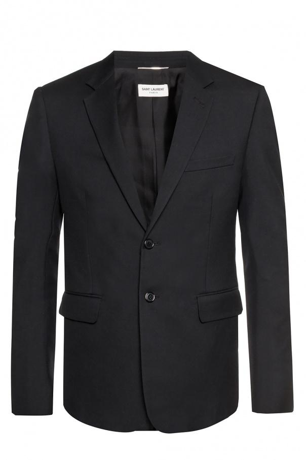 Saint Laurent Woolen blazer with pockets