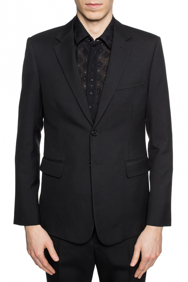Woolen blazer with pockets od Saint Laurent
