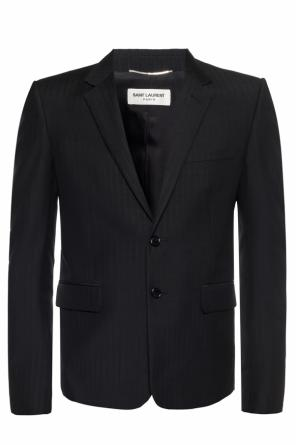 Blazer with notch lapels od Saint Laurent