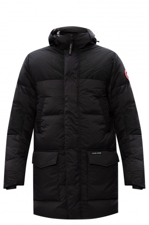 'armstrong' quilted down coat od Canada Goose