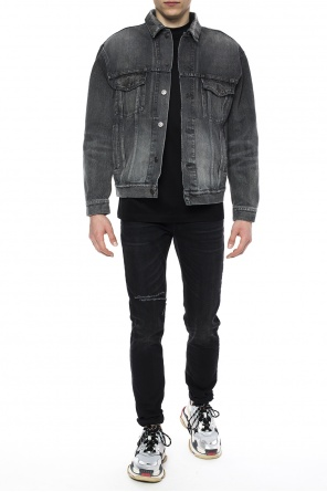 Raw-trimmed denim jacket od Balenciaga