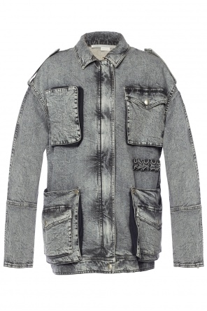 Oversize denim jacket od Stella McCartney
