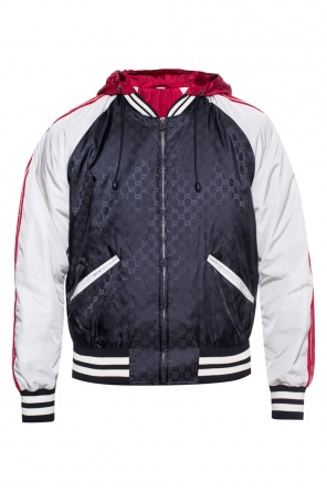 Bomber jacket with removable hood od Gucci