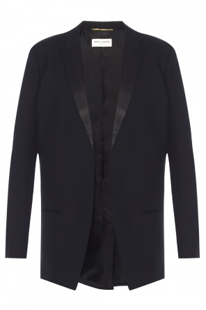 Long blazer with peak lapels od Saint Laurent