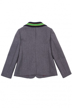 Logo-patched blazer od Gucci Kids