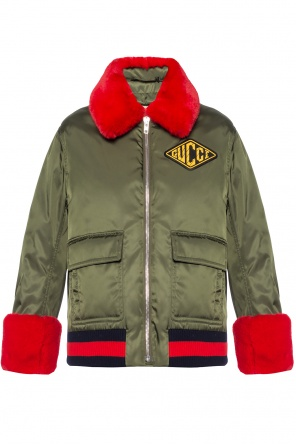 Jacket with detachable layer od Gucci