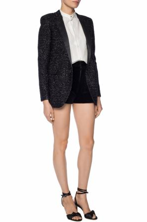 Lurex blazer od Saint Laurent