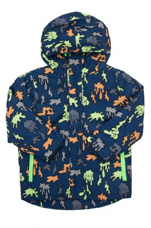 Printed padded jacket od Stella McCartney Kids