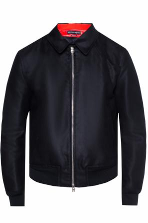 Jacket with detachable lining od Alexander McQueen