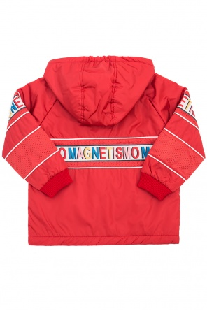 Jacket with embroidered lettering od Gucci Kids