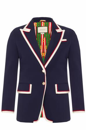Blazer with a rep finish od Gucci