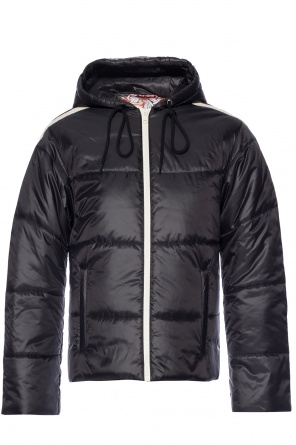 Hooded quilted jacket od Gucci