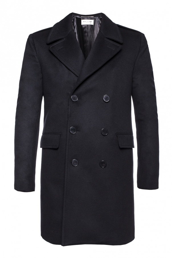 Saint Laurent Double-breasted coat