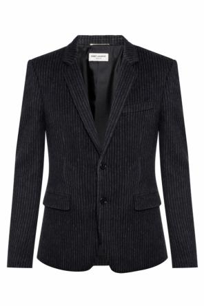 Striped blazer od Saint Laurent
