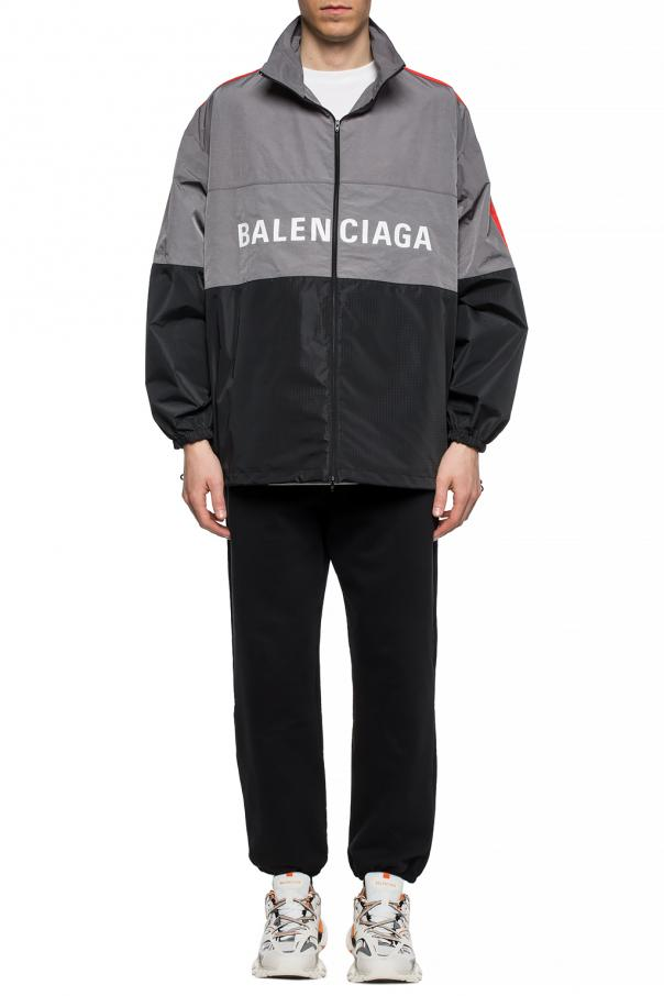 Rain jacket with logo od Balenciaga