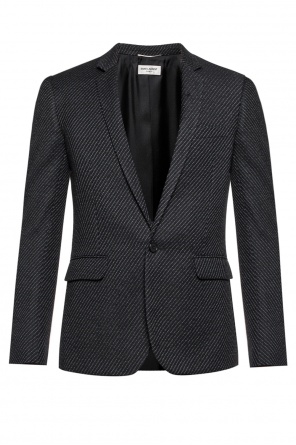 Patterned blazer od Saint Laurent