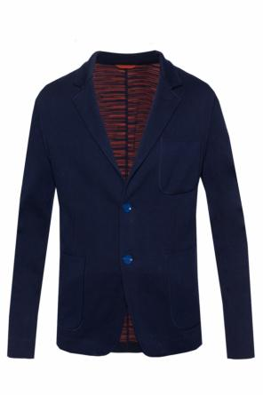 Blazer with notch lapels od Missoni