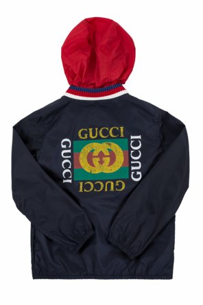 c3ac1acc3ba4 Logo-printed jacket od Gucci Kids Logo-printed jacket od Gucci Kids quick- view