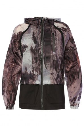 Two-layered hooded jacket od Diesel
