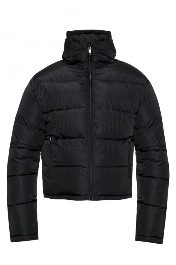 Hooded quilted jacket od Balenciaga