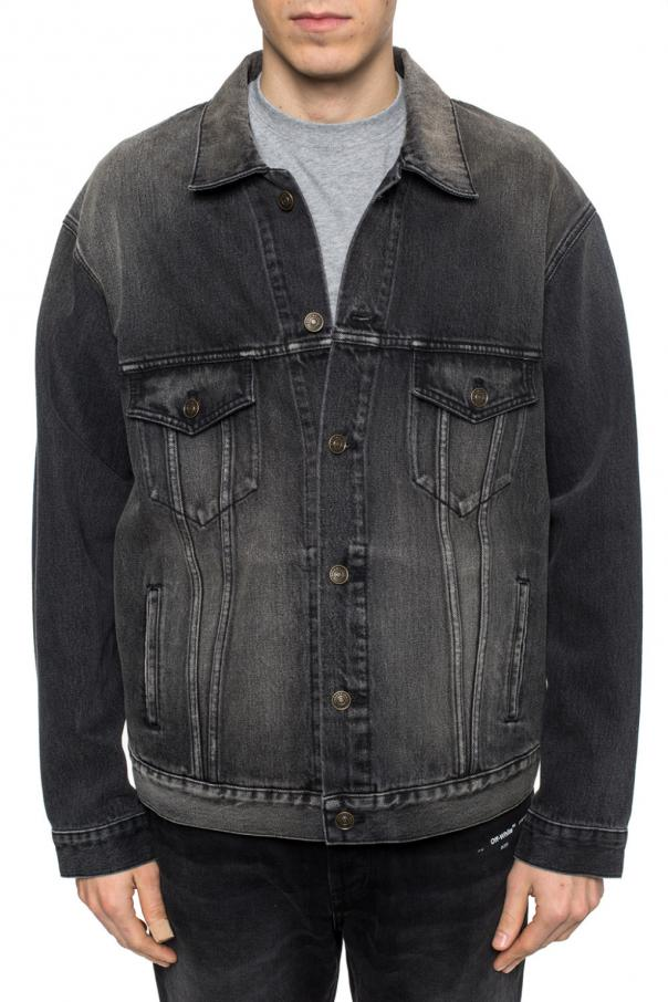 Stonewashed denim jacket od Balenciaga