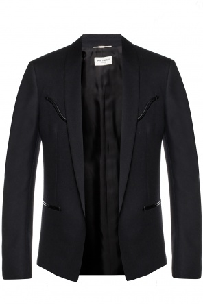 Long blazer with pockets od Saint Laurent