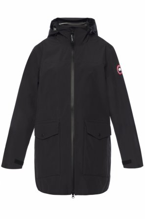 Long hooded jacket od Canada Goose