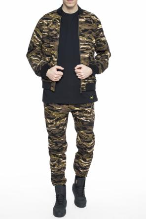 Camo bomber jacket od Puma XO by The Weeknd