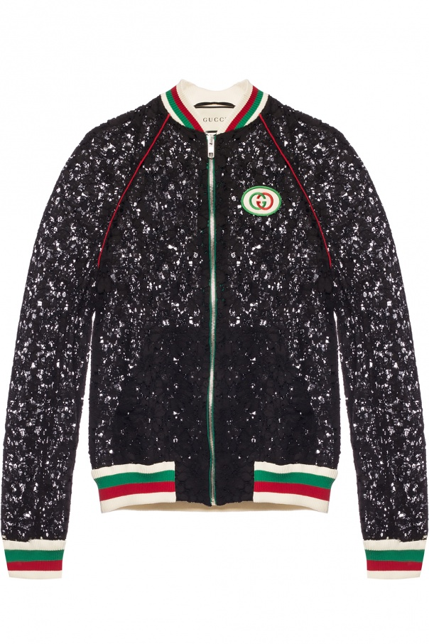 32eccd128 Bomber sweatshirt with logo Gucci - Vitkac shop online